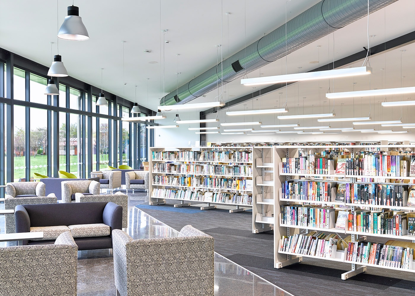 LED Lighting Systems at Te Awamutu Library